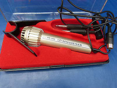 6329. Sennheiser Tisch Mikrofon MD 200  -  mit Box