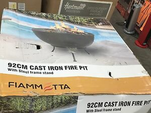 Huge cast iron fire pit used NO BOX  Very very heavy Tenambit Maitland Area Preview