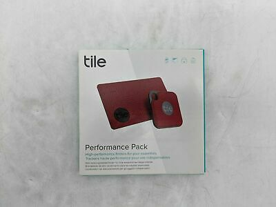 Tile Performance Pack Red Bluetooth Tracking Device 2 Tiles JL0213