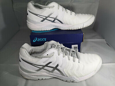 UK 9 EU 44 - Asics Gel Resolution 7 Men's Trainers - White