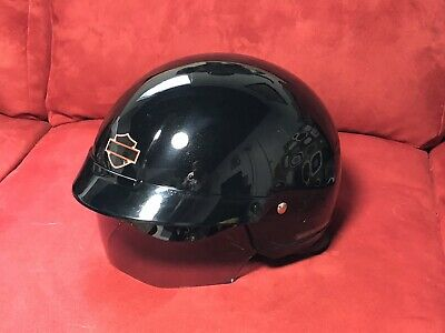 Harley-Davidson Womens Half Helmet w/ Retractable Sunshield, 98393-11VW/000S