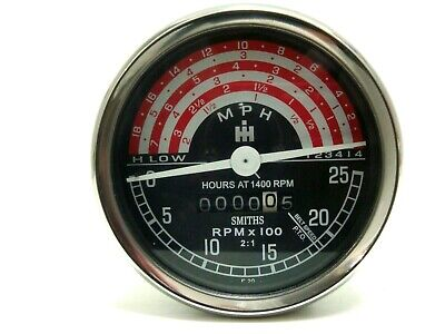 Tachometer For Ih International B250 B275 B414 276 354 434 444