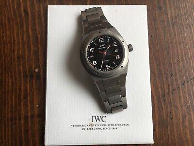 IWC watch Schaffhausen Ingenieur. Exclusively for Mercedes AMG. Affalterbach