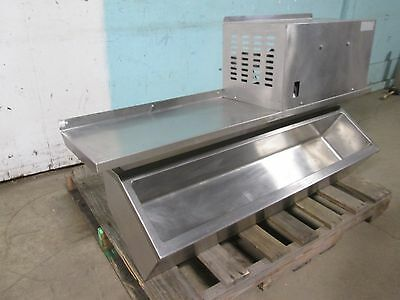 Heavy Duty Commercial Nsf Wall-mount Self-contained Refrigerated Topping Rail
