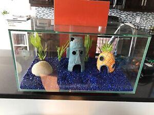 """Floating"" Infinity heated fish tank/terrarium"