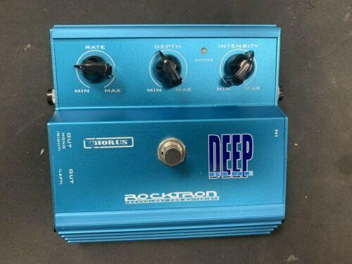 ROCKTRON DEEP BLUE Chorus Effects Pedal