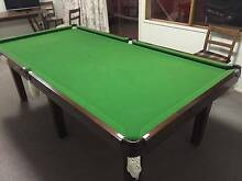 Pool Table - Slate Base, Solid Timber plus cues, rack and balls Chadstone Monash Area Preview