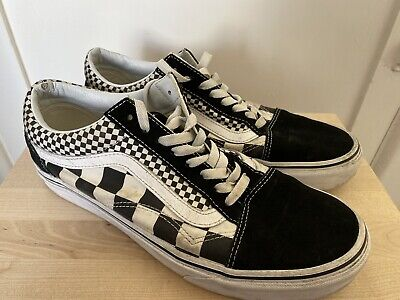 Vans Old Skool Checkerboard UK8.5