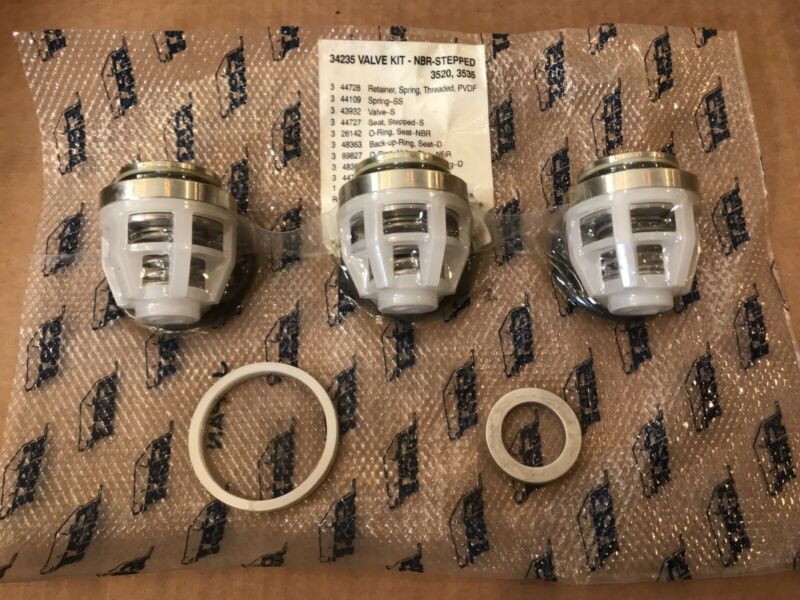Cat Pump 34235 valves for 3520 3535 cat industrial pressure washer pumps