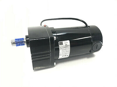 New Bodine 42a5bepm-e2 Parallel Shaft Gearmotor 14 Hp 130v 250 Rpm 101 45lb-in
