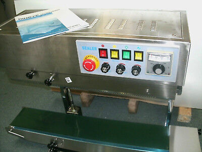 Frd-1000 Stainless Steel Continuous Vertical Bag Sealer Ink Coder - Usa Stocked