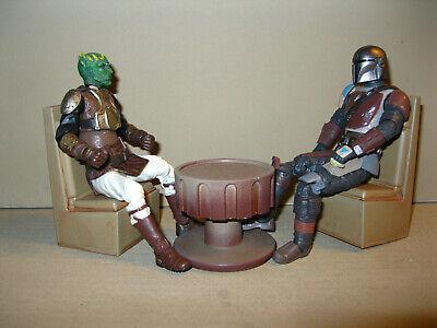 Star Wars Award Winning Custom 1:12 6 Inch Cantina Seats Diorama Free Shipping
