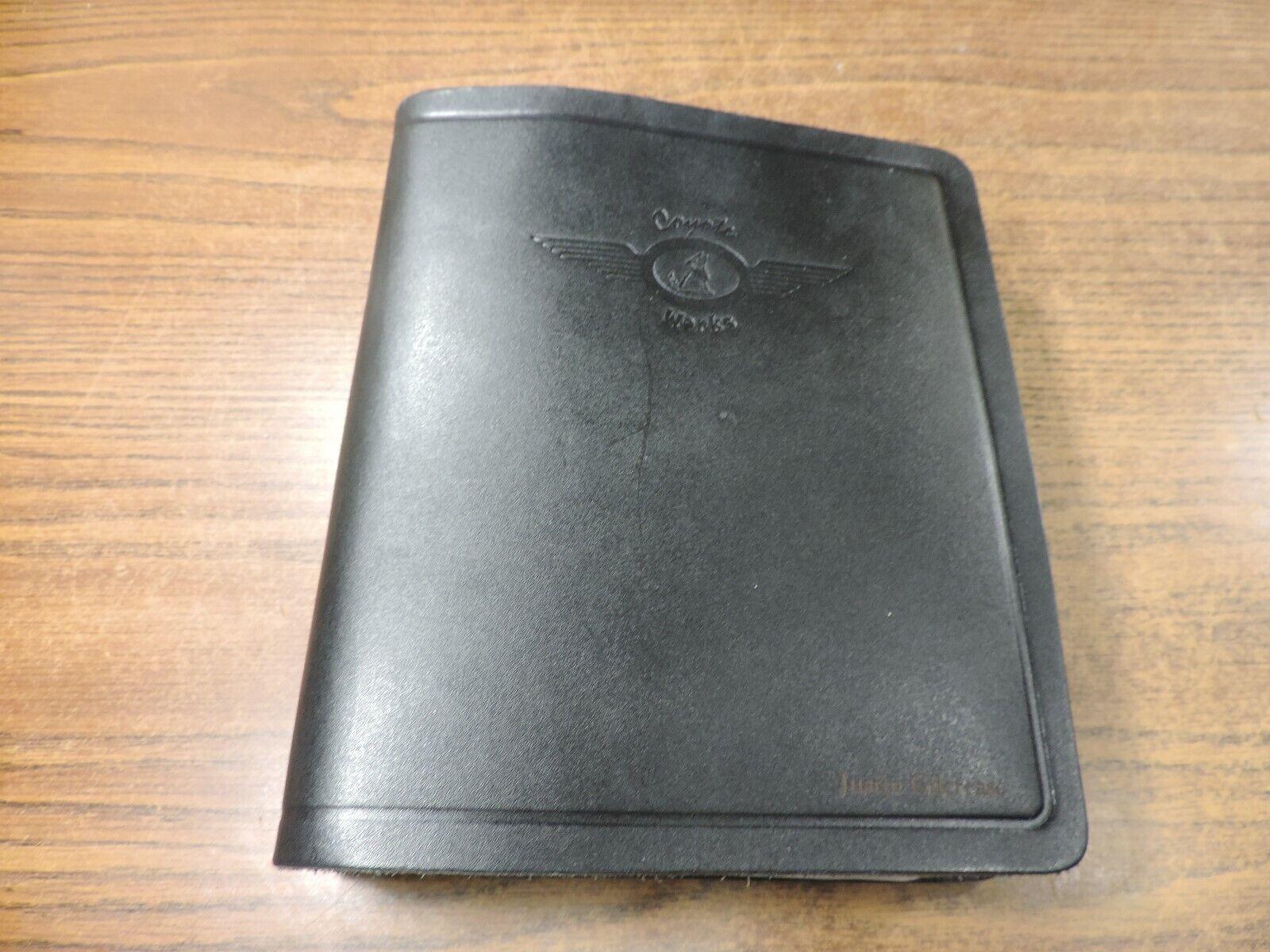 Coyote Works Binder W/ Jeppesen Airway Manual Charts & Procedures black