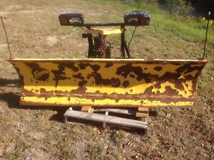 Fisher Minute Mount snow plow