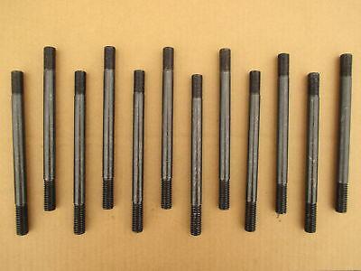 12 Engine Cylinder Head Studs For Ih International Farmall Super M M-ta Mv Mv-ta