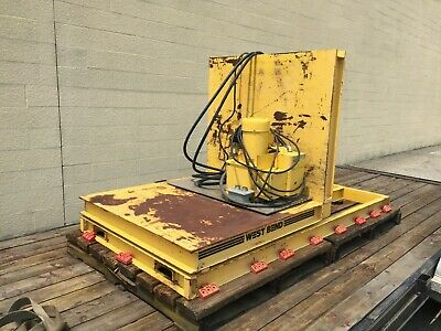Welt-bilt Upender Rotator Tipper 2000 Lbs By West Bend Equip. Working Condition