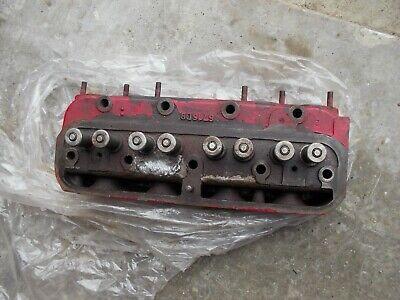 Farmall B Bn A Tractor Ih Engine Motor Cylinder Head W Nw Valves 6716db 6716 Db
