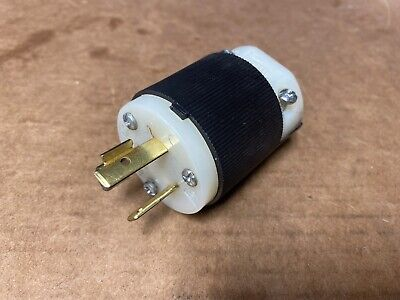 NEW HUBBELL 231A TWIST AND LOCK 20A 277V.A.C. MALE PLUG Fast Shipping