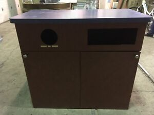 Garbage And Recycling Counter