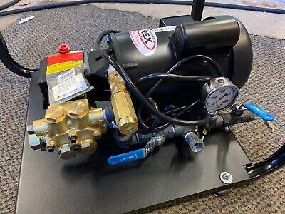 Wheeler-rex 33100 Hydrostatic Test Pump Electrictwin Piston1 Hp