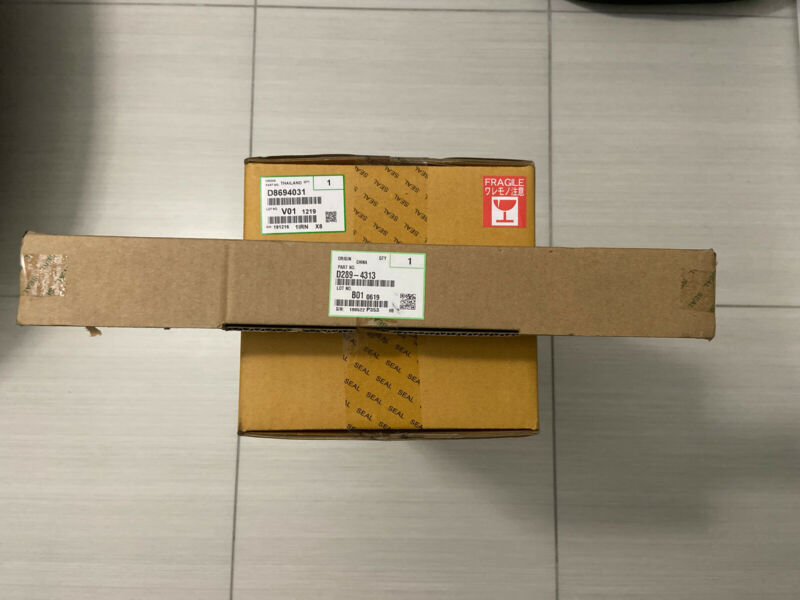 Genuine Ricoh D202-4313 Pressure Roller and D8694031 Fusing Sleeve Unit for 5054