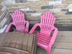 Toddler airondeck chair set of 2