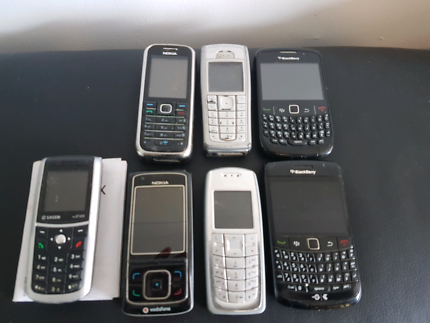 *SOLD Pending* Old mobile phones | Nokia, Blackberry & others