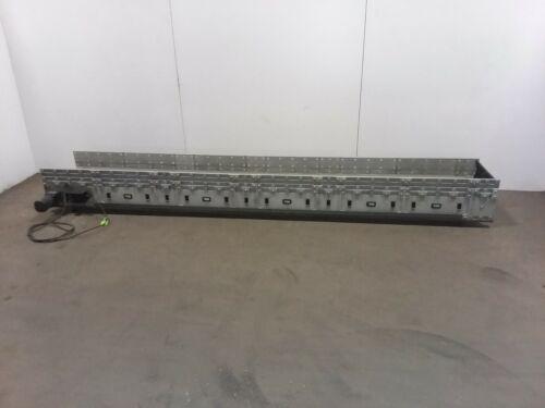 """Dyna-Con 128"""" Modular Conveyor 18""""W Plastic Belt 120v"""