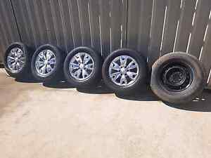 PX Ford Ranger Wildtrak Wheel and tyres Marayong Blacktown Area Preview