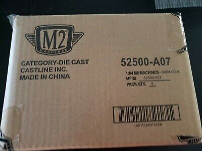M2 Machines Coca-Cola #52500 - A07 possible chance of chase