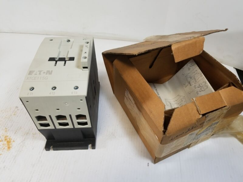 Eaton XTCE115G00A Electrical Contactor 120V