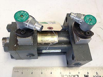 Used Miller Mh68rtb Hydraulic Cylinder34npt 50mm-bore 45mm-stroke 210-bar Bf