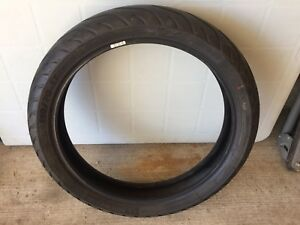 FS: front and rear pilot street tires low km