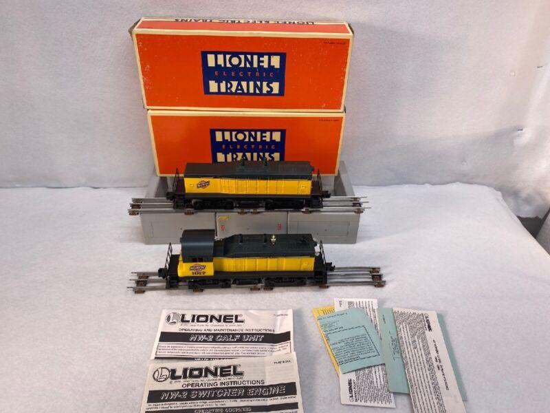 Lionel 6-18921/18928 Chicago&Northwestern Switcher & Calf units Used O Gauge OB