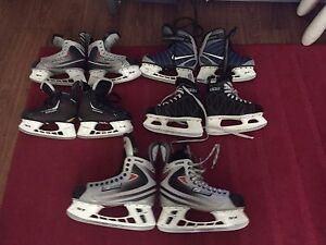 Patins de hockey Bauer et ccm