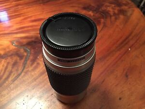 Tokina 100-300 zoom lens Sony A mount