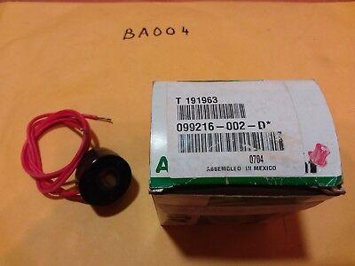 Asco Solenoid Valve Coil 099216-002-d