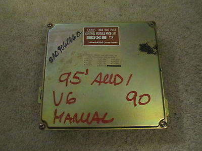 95 AUDI 90 A6 V6  ENGINE COMPUTER MODULE ECU OEM 8A0906266E C