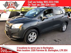 2016 Chevrolet Trax LT, Automatic, Back Up Camera, AWD