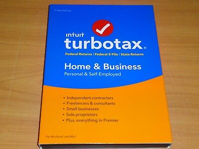 Look  Genuine  2016 Turbotax Home   Business Federal Plus State Cd Turbo Tax
