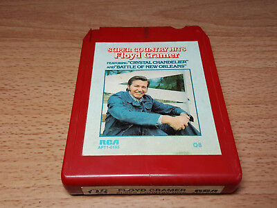 Floyd Cramer Super Country Hits Quadraphonic 8 Track Tape  for sale  Shipping to Canada
