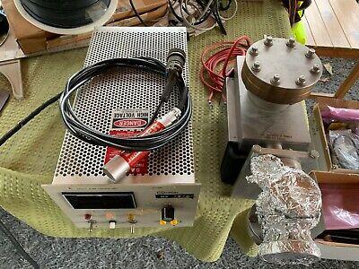 Varian Vacion Plus Triode Ion Pump 911-5032 Vacuum With Controller 921-0062