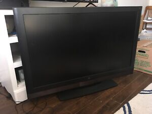 "47"" Wide Screen Television (burn mark)"