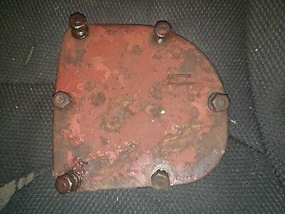 Farmall Sm Tractor Engine Governor Side Cover An Bolts Ihc M W6 Mv