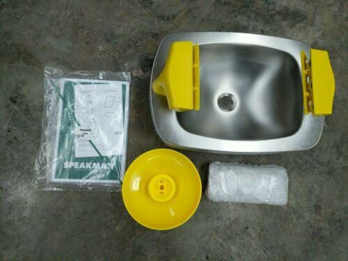 Speakman SE-400 Select Series Wall Mounted Eye Face Wash SS Bowl