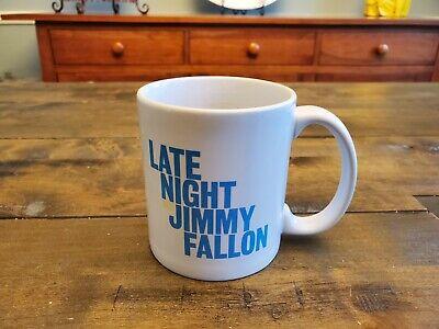 LATE NIGHT WITH JIMMY FALLON COFFEE TEA MUG