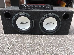 Sub woofer and amplifer
