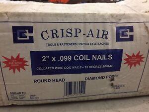 """2"""" spiral nails for air nailer"""