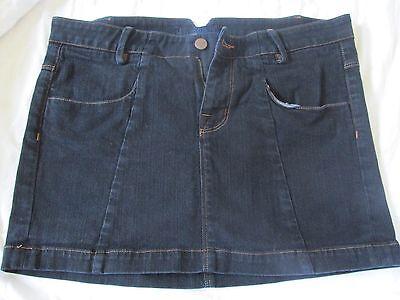 DAMEN J Brand Blaue Jeans Jeansrock Größe 29 Mini / Shorts Maßnahmen 33X13 ()