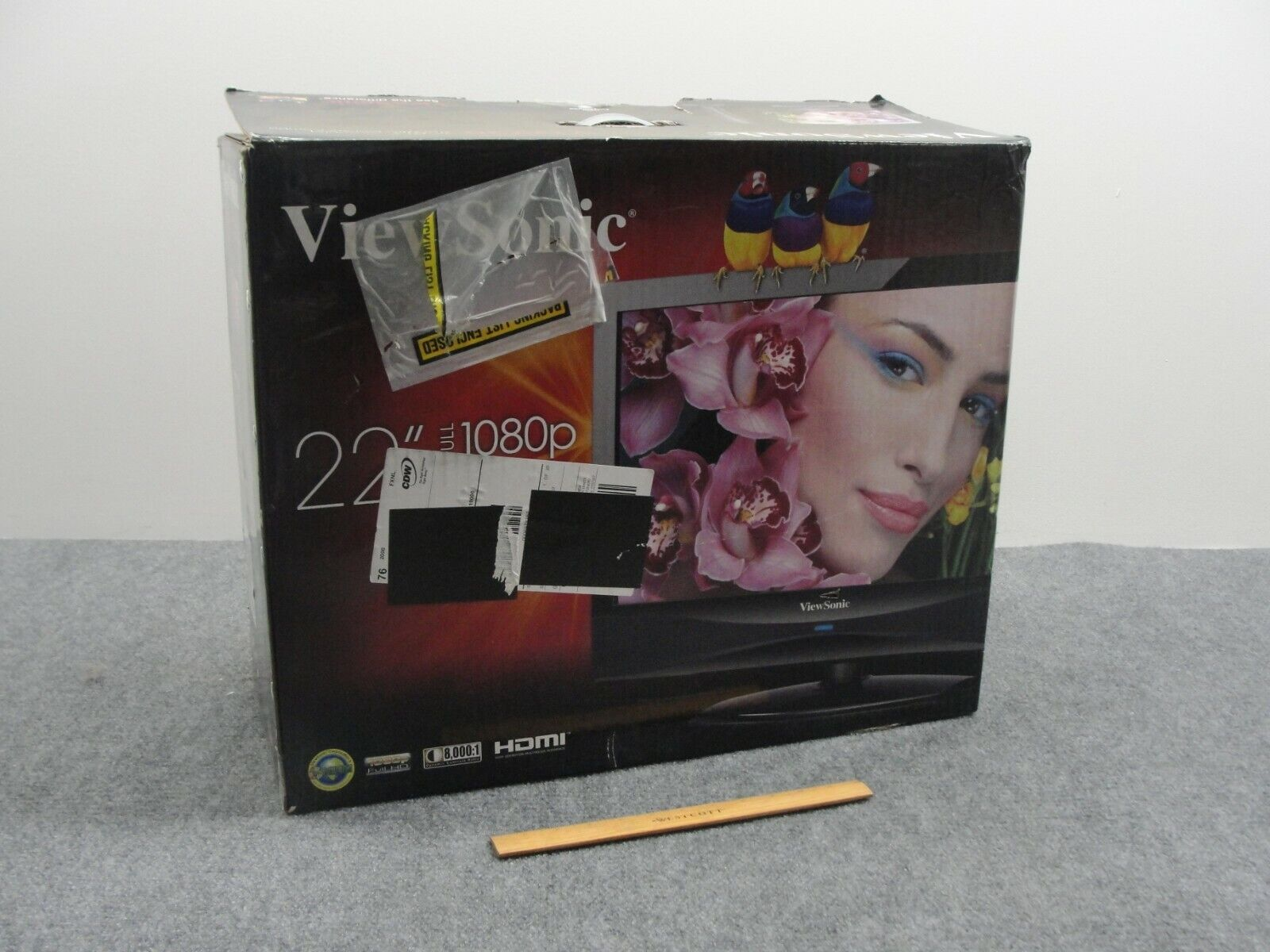 ViewSonic VT2230 22'' HDTV/PC Monitor Combo -New Open Box-